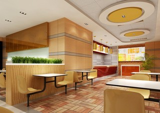小型餐饮店装修设计图片欣赏