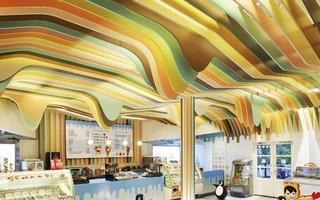 创意甜品饮品店装修效果图