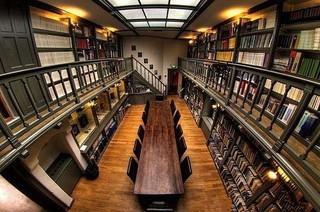 国外公共图书馆室内设计效果图