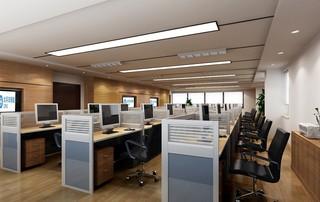 现代简约写字楼办公区装修布局效果图