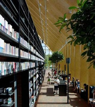 学生图书馆室内设计效果图