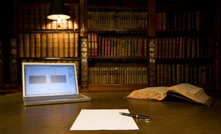 古典风格私人图书馆装修设计图欣赏