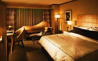 现代豪华宾馆单间装修效果图