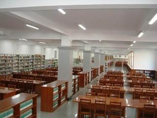 中学图书馆室内外装修设计效果图