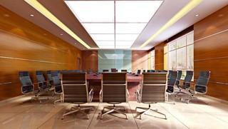 写字楼会议室装修设计效果图