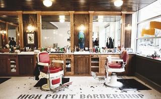美式风格理发店装修效果图方案