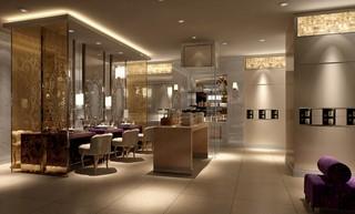 欧式风格美容美发店装修装饰效果图