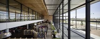 现代简约图书馆装修效果图