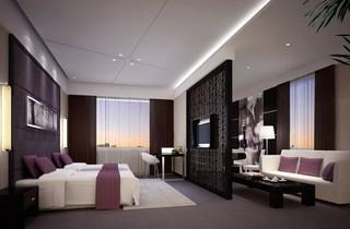 大气高端酒店套房装修设计效果图