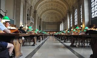 外国欧式古典图书馆装修装饰图片