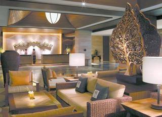 气派宾馆大堂沙发装饰效果图