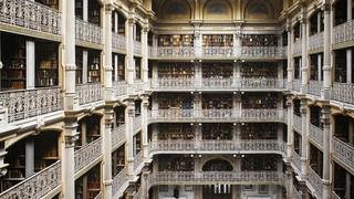 大型图书馆室内装修效果图