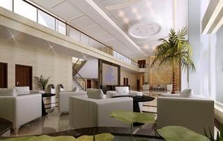 写字楼大厅休闲区装修效果图