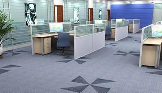公司办公室地毯装修效果图欣赏