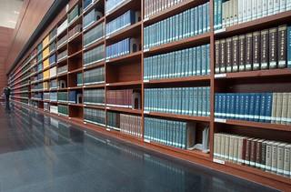 图书馆图书书架设计效果图