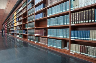 圖書館圖書書架設計效果圖