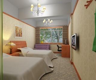 精致宾馆标准间装修效果图欣赏
