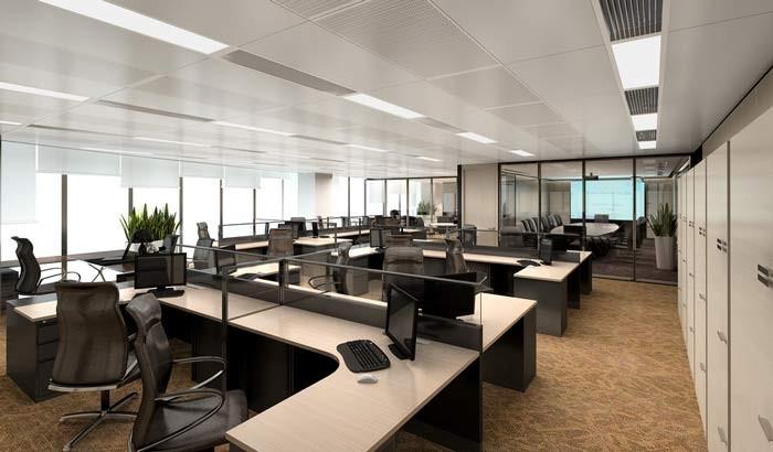 远洋运输集团办公室装修设计
