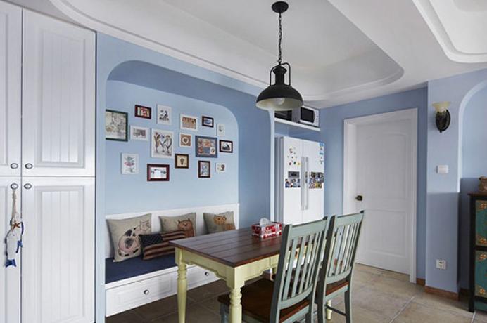 色彩跃动地中海一居室装修效果图