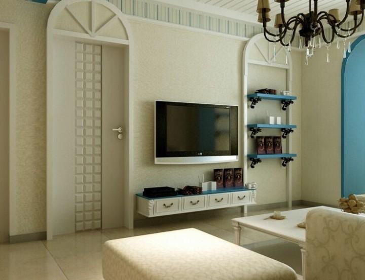 地中海风格室内装修装饰效果图
