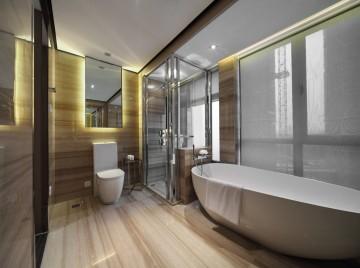 厚重素雅新古典风格样板房装修效果图