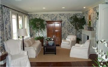 田园风格客厅设计图 ...