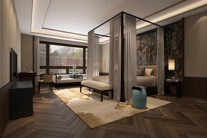 浪漫意蕴新中式别墅装修设计效果图