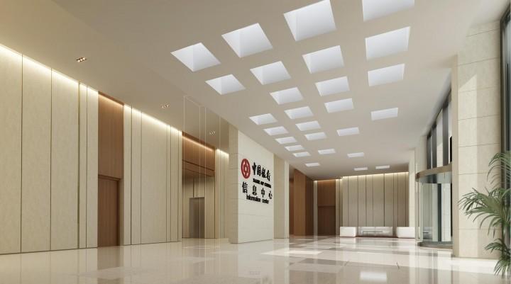 中国银行办公大楼装修效果图