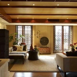 休闲热情泰式两居室客厅装修效果图