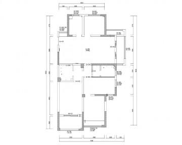 140平米三室两厅现代 ...