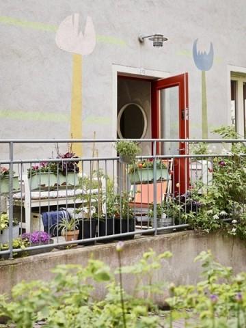 60平米小户型北欧乡村公寓装修装饰效果图