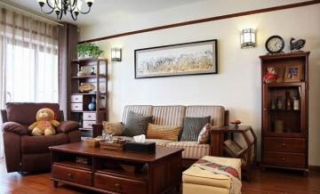 传统家居小户型客厅 ...