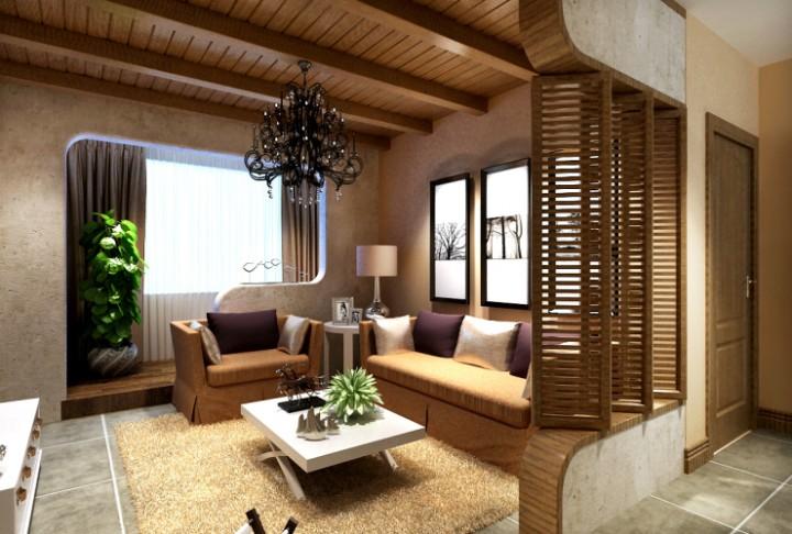 中海国际社区三室两厅现代简约风格