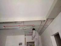 熙地·锦绣城——吊顶工序进行中