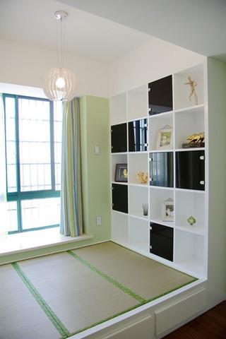 现代简约风格90平米三居室装修效果图