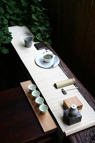 茶室中式古典茶具图片欣赏