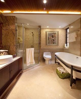 东南亚风格卫生间装 ...