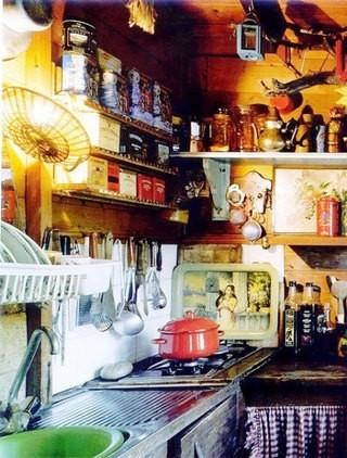 时尚另类小户型厨房装修装饰图片