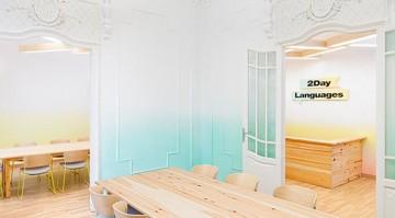 语言培训中心183平米新古典风格装修设计