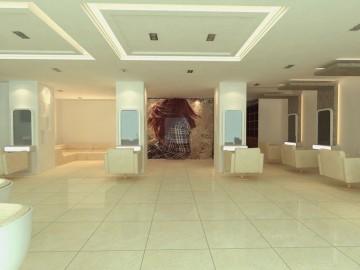 现代理发店200平米现代风格装修设计