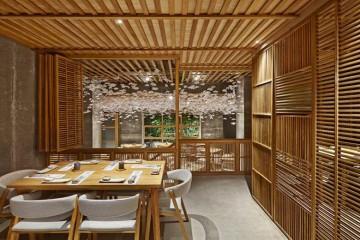 寿司店200平米日式风格效果图设计