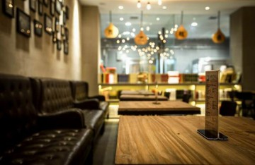 烘焙店89平米混搭风格室内装修效果图
