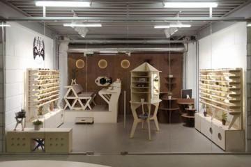 眼镜零售店铺26平米简约风格装修效果图