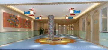 新时代幼儿园-进门大厅