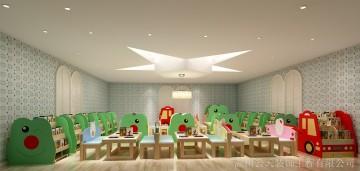 凯奇幼儿园图书室
