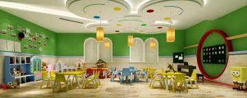 凯奇幼儿园设计图-教室9