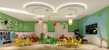 凯奇幼儿园设计图-教室8