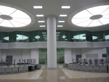 万华一体化项目控制室装修工程 1