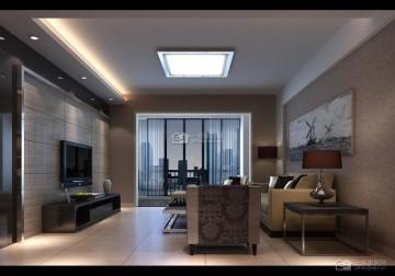 现代简约56平米一房一厅小户型装修案例