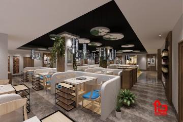 深圳生物医药创新产业园区美食城装修设计
